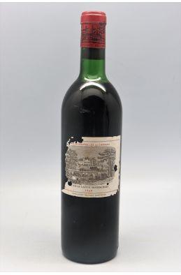 Lafite Rothschild 1969 -10% DISCOUNT !