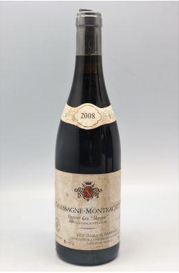 Ramonet Chassagne Montrachet 1er cru Morgeot 2008 rouge - PROMO -5% !