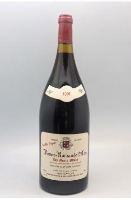 Bruno Clavelier Vosne Romanée 1er cru Les Beaux Monts Vieilles Vignes 1991 Magnum