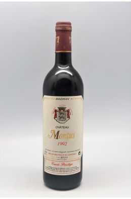 Montus Madiran Cuvée Prestige 1992