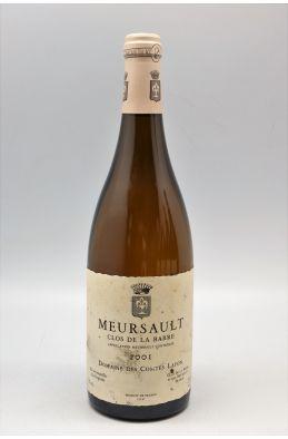 Comtes Lafon Meursault Clos de la Barre 2001 - PROMO -5% !