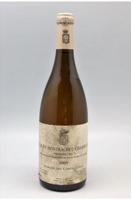 Comtes Lafon Puligny Montrachet 1er cru ChampGain 2005 - PROMO -5% !