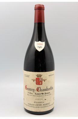 Denis Mortet Gevrey Chambertin 1er cru Lavaux Saint Jacques 2000 Magnum