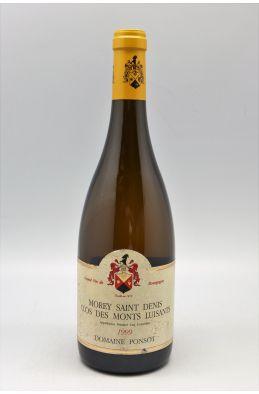 Ponsot Morey Saint Denis 1er cru Clos Des Monts Luisants 1999 blanc - PROMO -5% !