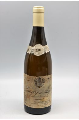 Ramonet Bourgogne Aligoté 2001