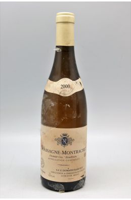 Ramonet Chassagne Montrachet 1er cru Boudriotte 2000 blanc -10% DISCOUNT !