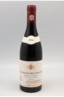 Ramonet Chassagne Montrachet 1er cru Les Morgeots 2016 rouge