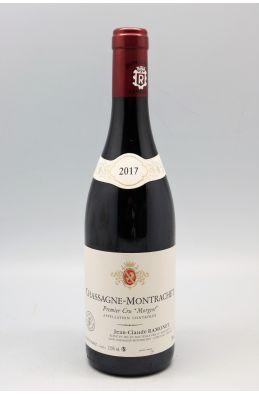 Ramonet Chassagne Montrachet 1er cru Les Morgeots 2017 rouge