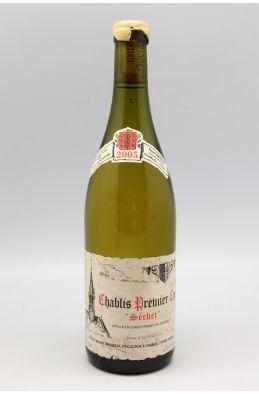 Vincent Dauvissat Chablis 1er cru Séchet 2005 - PROMO -5% !