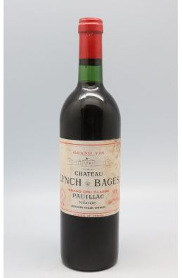 Lynch Bages 1974 - PROMO -5% !