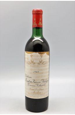 Mouton Baron Philippe 1968 - PROMO -10% !