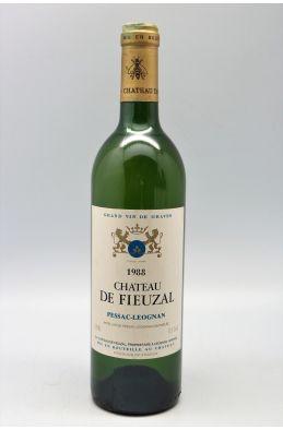 Fieuzal 1988 blanc - PROMO -10% !