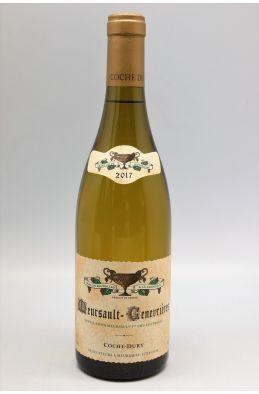 Coche Dury Meursault 1er cru Genevrières 2017
