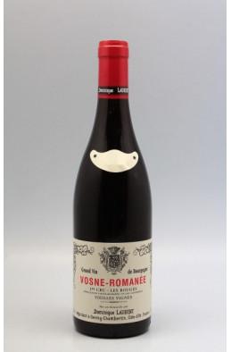 Dominique Laurent Vosne Romanée 1er cru Les Rouges Vieilles Vignes 2019