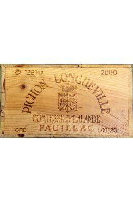 Pichon Longueville Comtesse de Lalande 2000