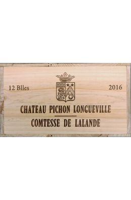 Pichon Longueville Comtesse de Lalande 2016