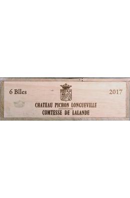 Pichon Longueville Comtesse de Lalande 2017 OWC