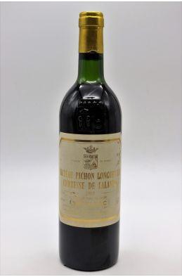 Pichon Longueville Comtesse de Lalande 1985 - PROMO -5% !
