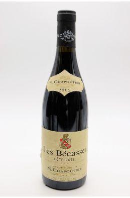 Chapoutier Côte Rôtie Les Bécasses 2002