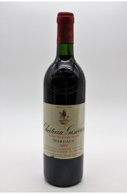 Giscours 1992 -5% DISCOUNT !