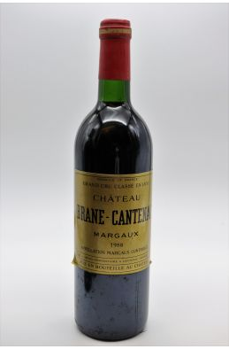 Brane Cantenac 1988