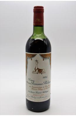 Mouton Baronne Philippe 1984 - PROMO -15% !