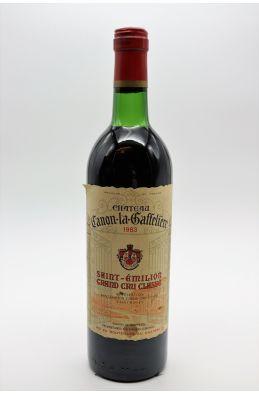 Canon La Gaffelière 1983