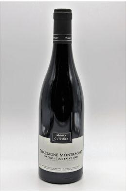 Morey Coffinet Chassagne Montrachet 1er cru Clos St Jean 2017