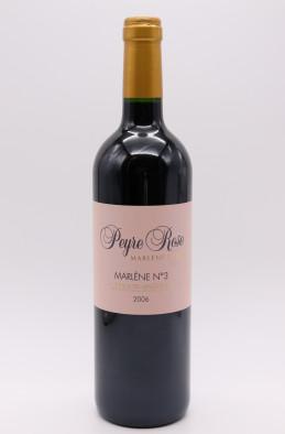 Peyre Rose Côteaux du Languedoc Marlène N°3 2006