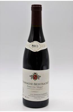 Ramonet Chassagne Montrachet 1er cru Morgeot 2013 rouge