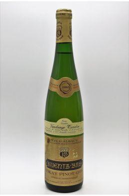 Kuentz Bas AlsaceTokay Pinot Gris Cuvée Caroline Réserve Personnelle Vendanges Tardives 1985