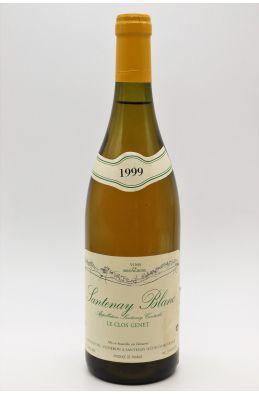 Brenot PH Santenay Le Clos Genet 1999 Blanc