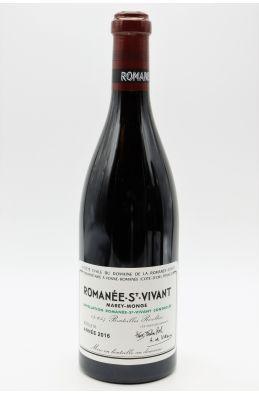 Romanée Conti Romanée Saint Vivant 2016