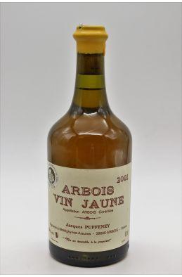 Jacques Puffeney Arbois Vin Jaune 2001 62cl