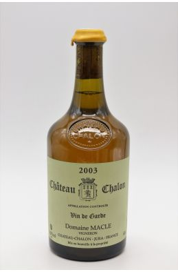 Jean Macle Château Chalon 2003 62cl