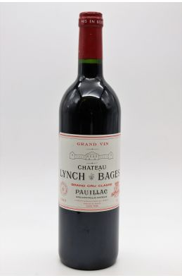 Lynch Bages 1999