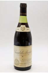 Brocard & Fils Chambolle Musigny 1978