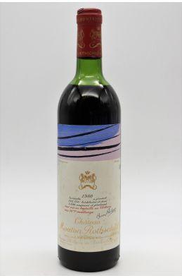 Mouton Rothschild 1980 - PROMO -15% !