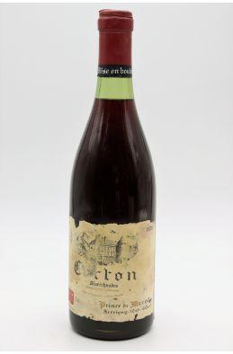 Prince de Mérode Corton Maréchaudes 1978 -5% DISCOUNT !