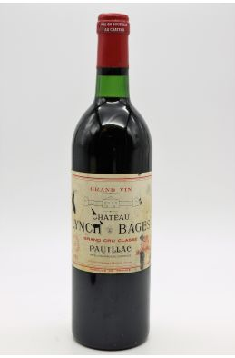 Lynch Bages 1981 - PROMO -10% !
