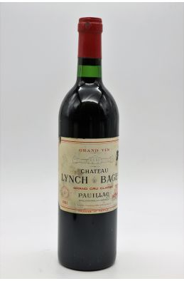 Lynch Bages 1981 -5% DISCOUNT !