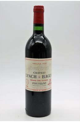 Lynch Bages 1981
