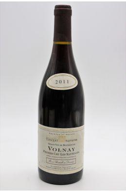 Vincent Sauvestre Volnay 1er cru Les Santenots 2011