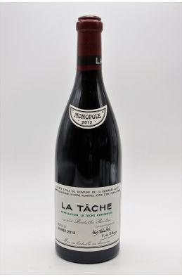 Romanée Conti La Tâche 2012 -5% DISCOUNT !