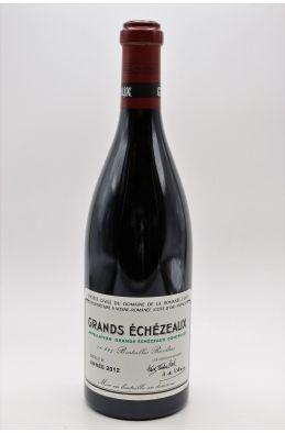 Romanée Conti Grands Echezeaux 2012