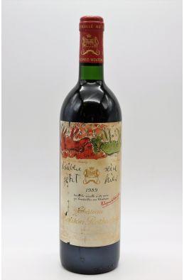 Mouton Rothschild 1989 - PROMO -10% !
