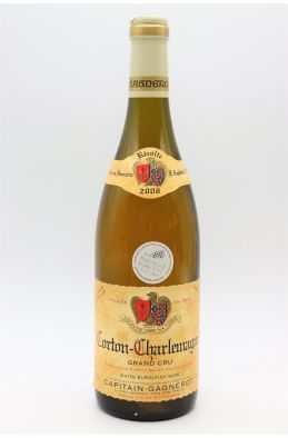 Capitain Gagnerot Corton Charlemagne 2008