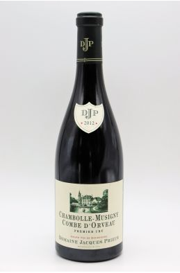 Jacques Prieur Chambolle Musigny 1er cru Combe d'Orveau 2012