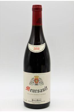 Pierre Matrot Meursault 2016 rouge
