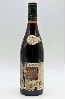Guigal Côte Rôtie La Landonne 1984 -10% DISCOUNT !